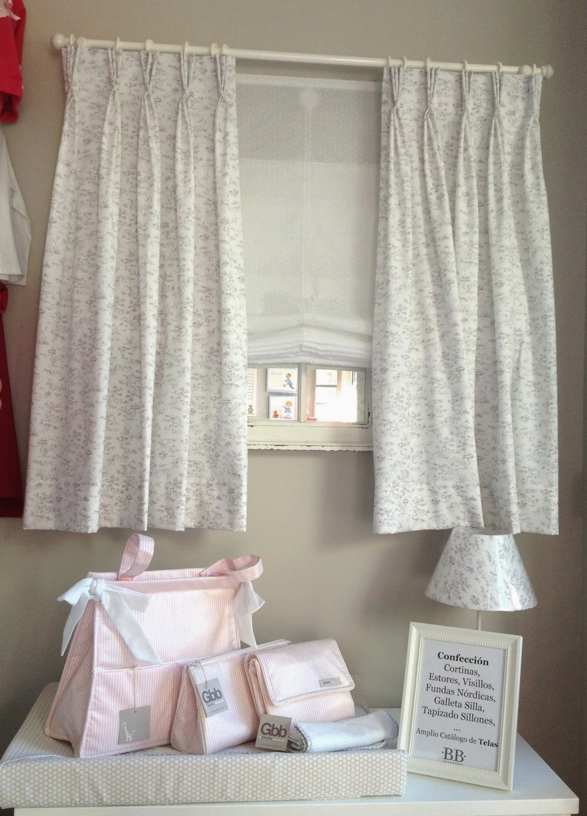Bb the countrybaby blog renovar el dormitorio con - Estores con cortinas ...