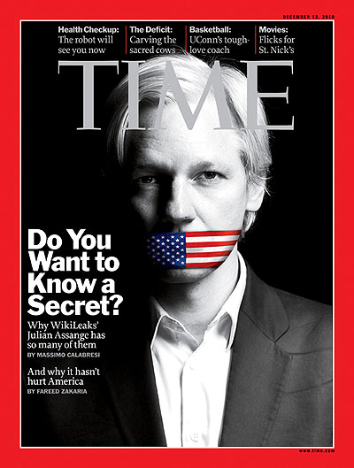 creator of WikiLeaks, Julian Assange