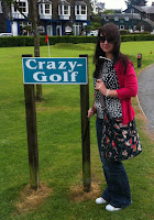 Crazy Golf in Ambleside