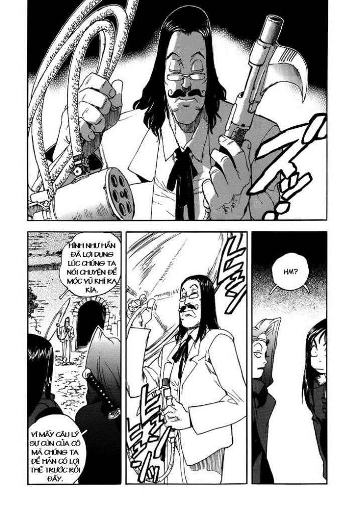 Aiki chap 92 - Trang 21