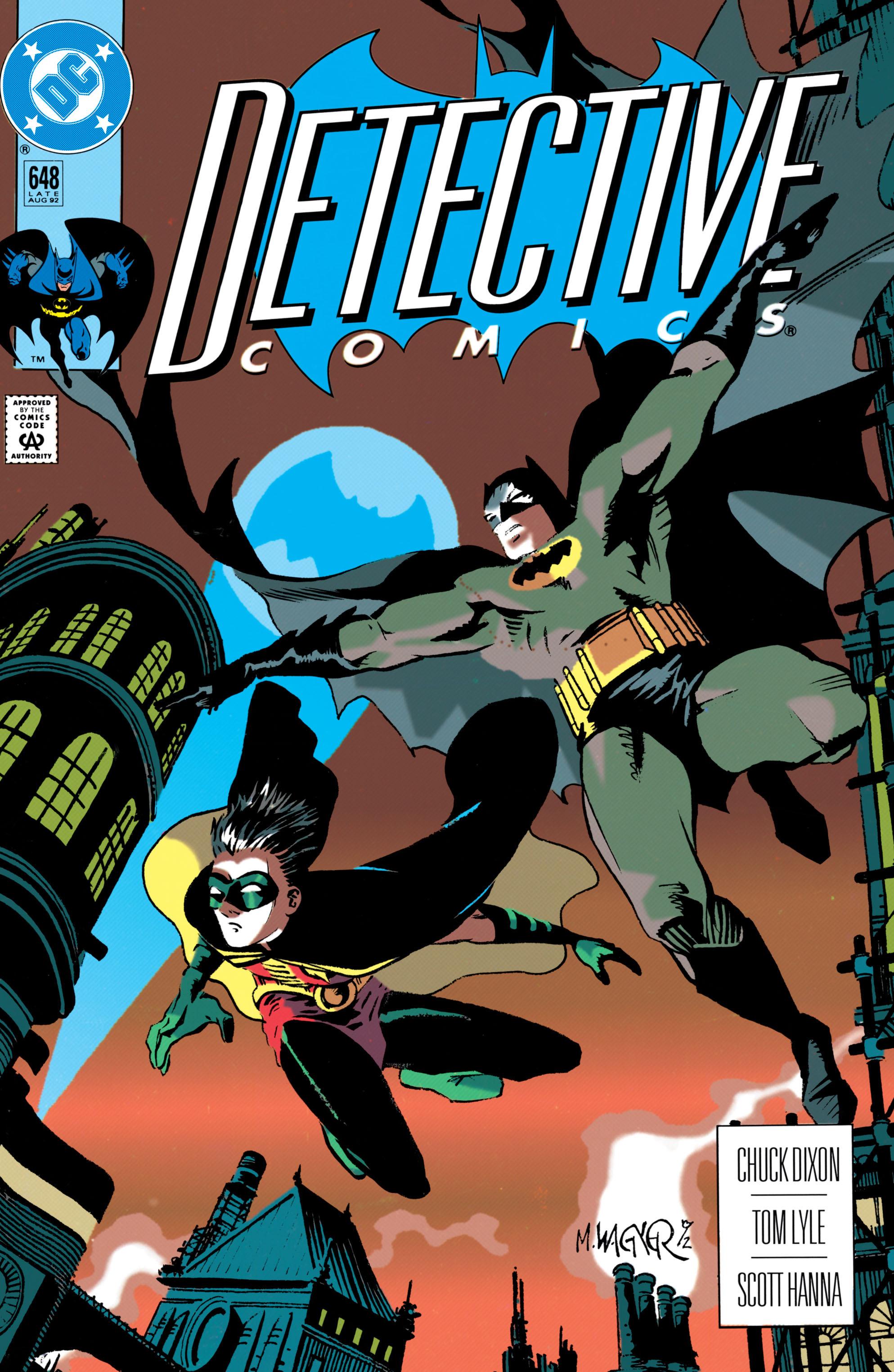 Detective Comics (1937) 648 Page 1
