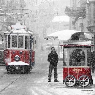 istanbul kar resmi