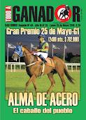 Todo A Ganador - 25/5 - San Isidro - Gran Premio 25 de Mayo-G1 - ALMA DE ACERO y fibra de campeón