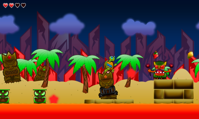 Turtle Tale 3DS Screenshot 4