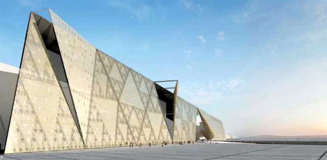 Grand Egyptian Museum, Giza by Heneghen Peng Architects