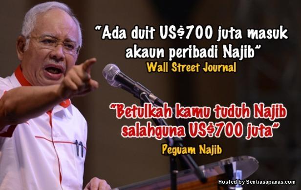 Guling Kerajaan Najib