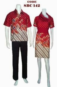 Model Baju Pesta Sarimbit Dress Batik