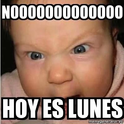 HOY ES LUNES 09 DE MARZO 2015