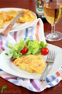 Tortilla de patatas - Omleta spaniola