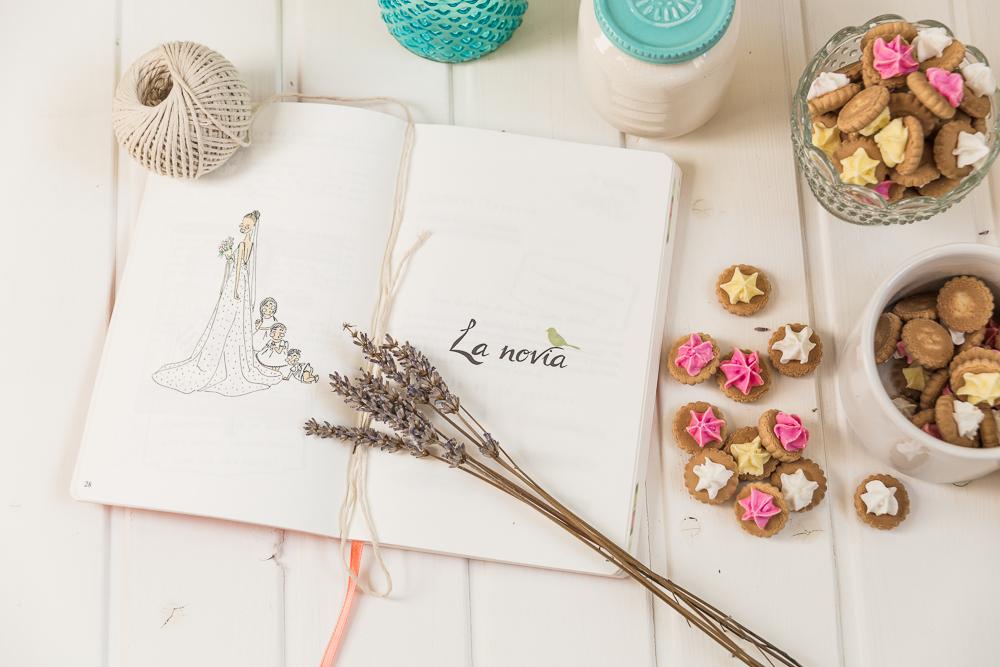 5 agendas de novia bonitas para organizar tu boda blog - Organizar una boda ...