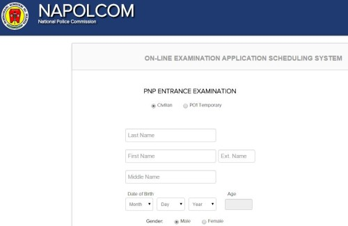 NAPOLCOM On-Line Exam Application and Scheduling System for October on application database diagram, application meaning in science, application template, application to be my boyfriend, application cartoon, application for rental, application to date my son, application clip art, application submitted, application to join motorcycle club, application for scholarship sample, application approved, application for employment, application in spanish, application service provider, application to rent california, application trial, application error, application to join a club, application insights,