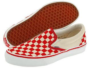 zapatillas arlequin rojas