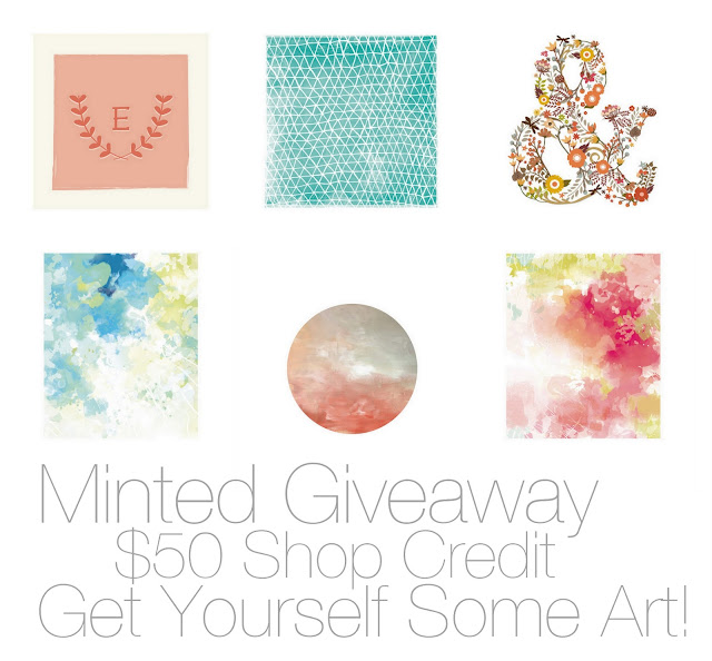 Enter to Win a $50 Shop Credit to Minted