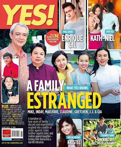 Barretto Controversy, Enrique Gil and KathNiel on YES! Magazine June 2013 Issue