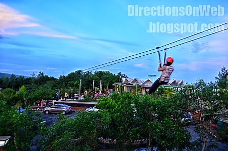 zipline for beginners in lignon hill nature park