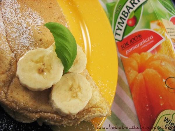 Omlet z amarantusem :)