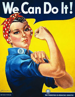 Propaganda Poster World War II We Can Do It by J. Howard Miller for Westinghouse