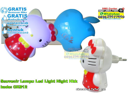 Souvenir Lampu Led Light Night Hkk