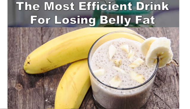 most efficient drink to burn belly fat