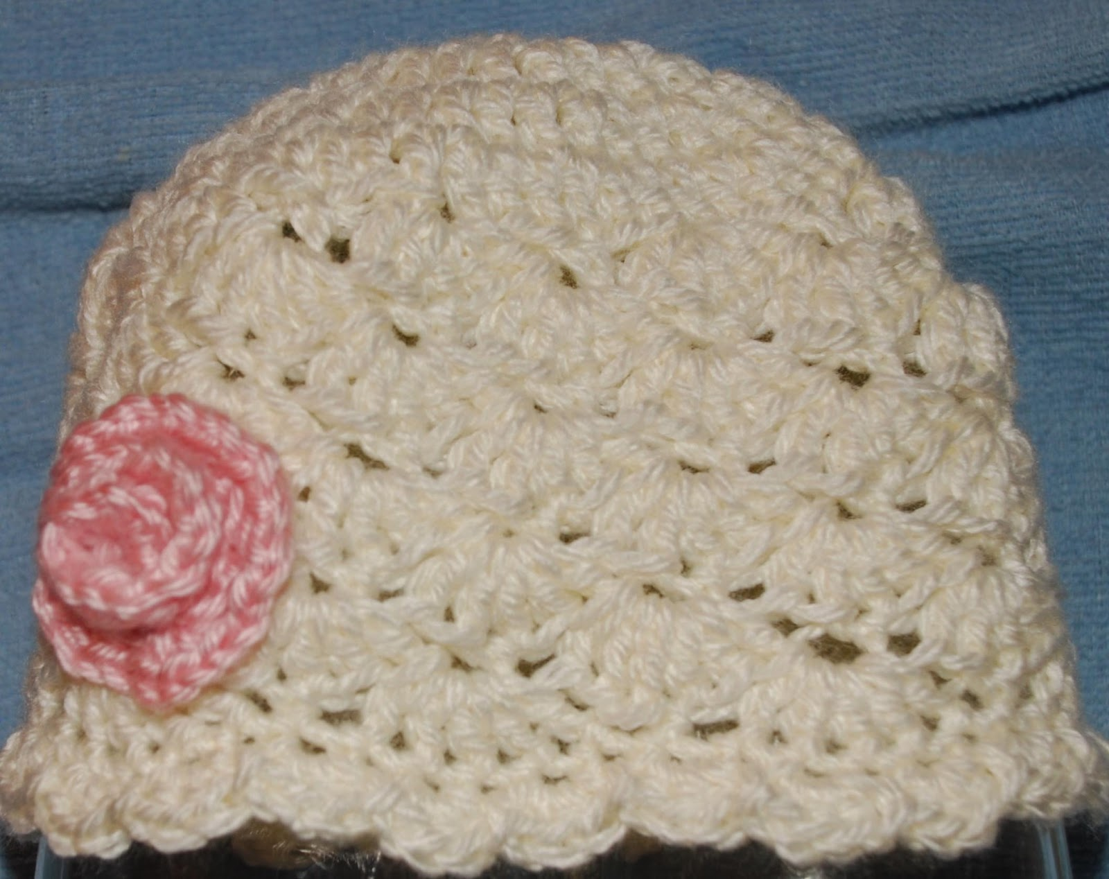 Amys Crochet Creative Creations: Crochet Shell Newborn Hat