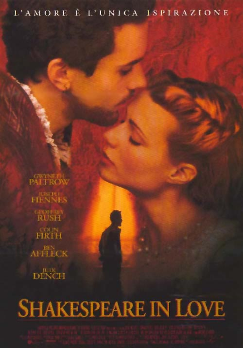 review shakespeare in love Review there is more of shakespeare in love in the oscar-winning 1998 john   george olesky and jennifer ellis in shakespeare in love.