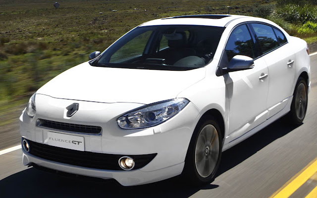 Renault Fluence GT Turbo - branco
