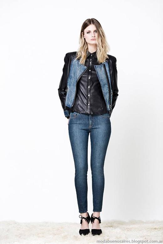 Delaostia otoño invierno 2014. Moda otoño invierno 2014 moda jeans.