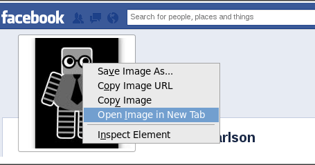 how to make profile picture private facebook