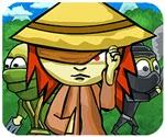 Ninja với cô gái mù, game hanh dong