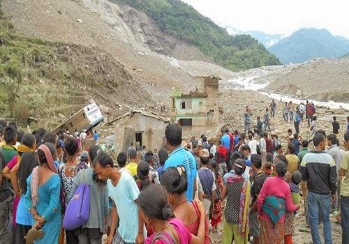 Sunkoshi_flood_Jure_landslide