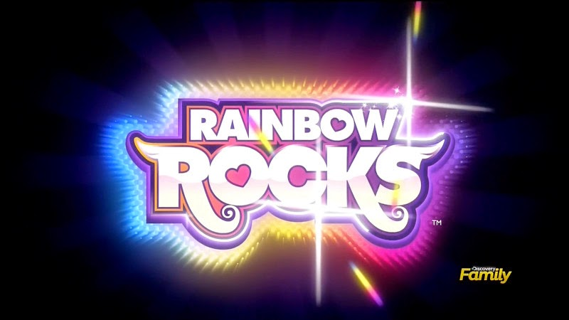 Rainbow Rocks title screen
