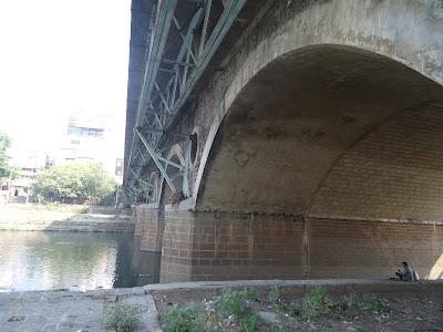 Lakdi Pul, river, clean up