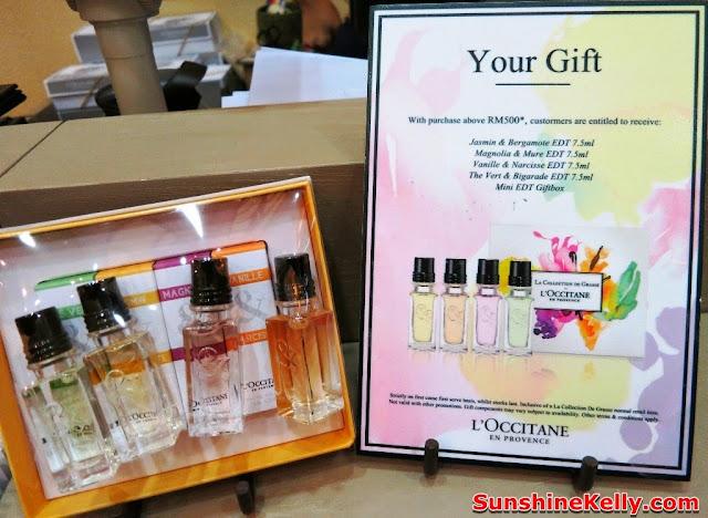 L'Occitane Malaysia Store Promotion, L'Occitane pavilion kl