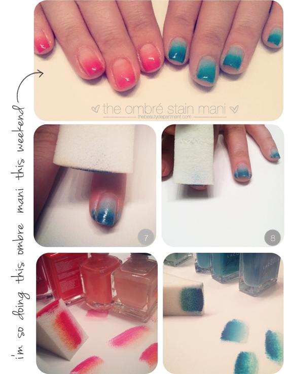 ombre manicure tutorial