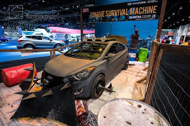 Hyundai Walking Dead Elantra