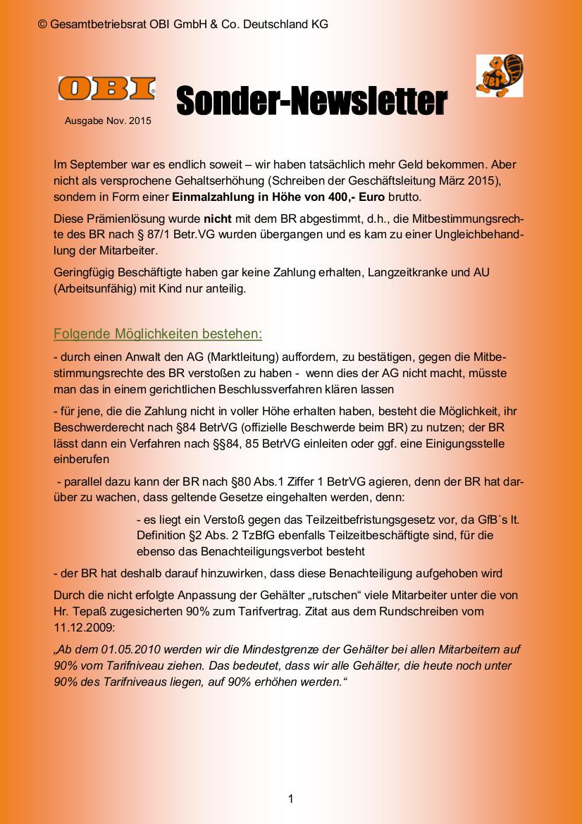 OBI - ver.di Infoblog: 2015