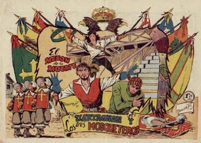 D'Artagnan y los Tres Mosqueteros-Ediciones ferma