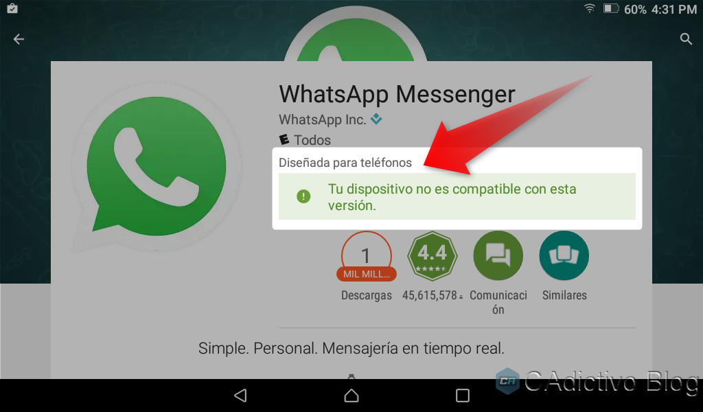 WhatsApp for Windows 028691 (32-bit) Download for