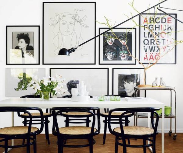 feathered nest dress up your walls. Black Bedroom Furniture Sets. Home Design Ideas