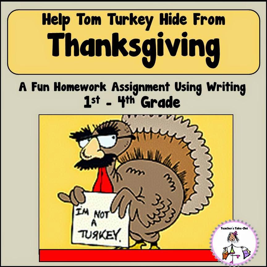 Freebie! Hide Tom! Homework Assignment