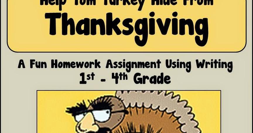 disguise the turkey homework