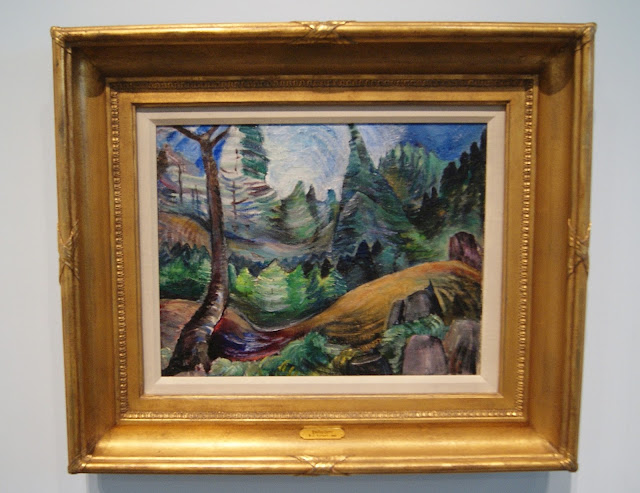 From the Forest to the Sea: Emily Carr in British Columbia Exhibit at Art Gallery of Ontario in Toronto, exhibition, paintings, forest, Canada, artist, woman, AGO, culture, art,artmatters, The Purple Scarf, Melanie.Ps, native, aboriginal,