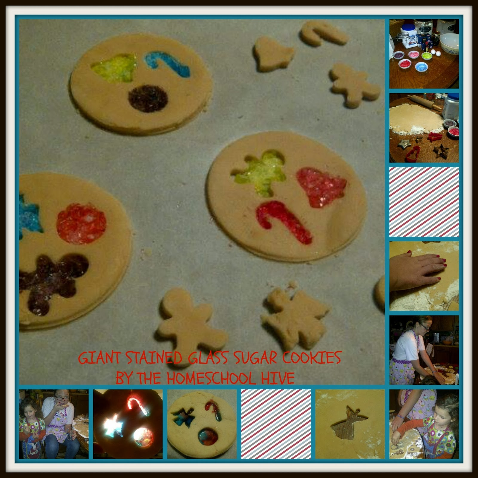 The Homeschool Hive: Giant Stained Glass Sugar Cookies For ...