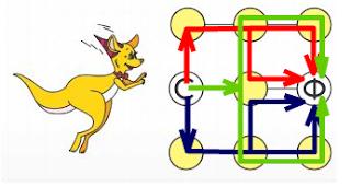 ответ на задачу олимпиады Кенгуру по математике для 2 класса