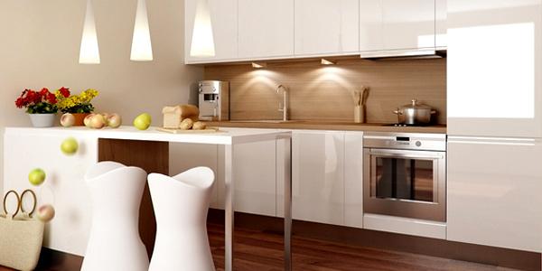 Desain ruang dapur kecil