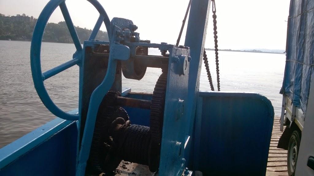 Mandovi ferry, goa