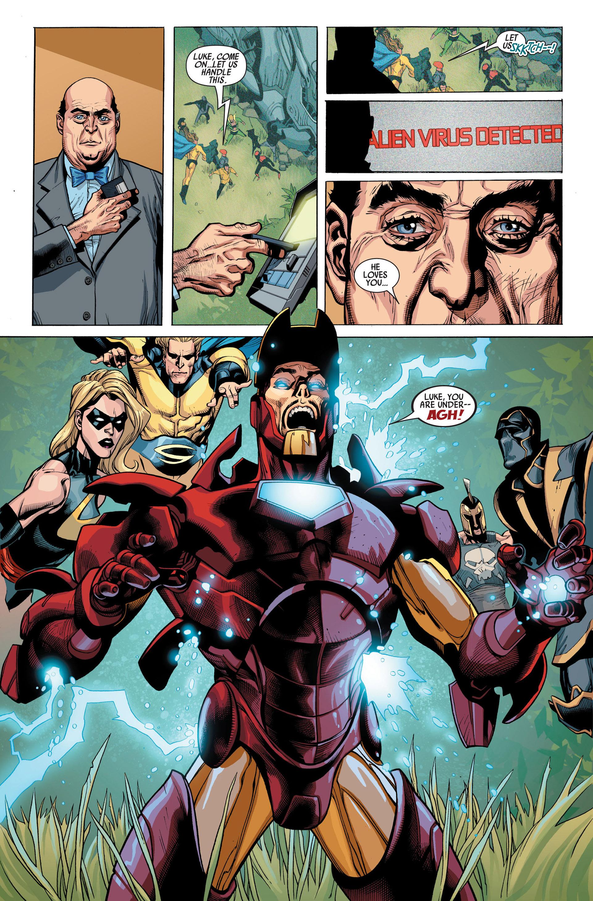 Read online Secret Invasion comic -  Issue #1 - 20