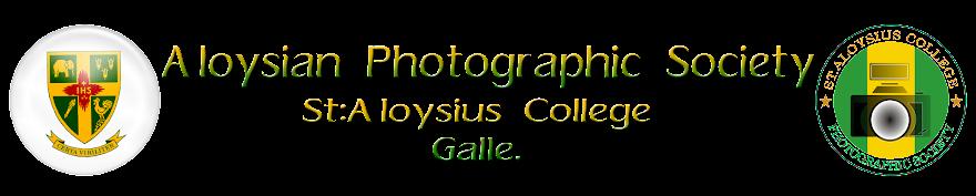 Alosian Photographic Society E-Membership Form