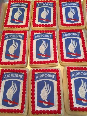 Custom Military Cookies