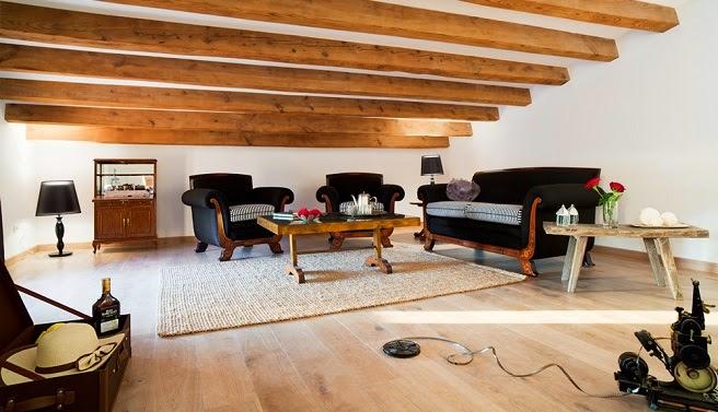 Gallart grupo el blog suelos y puertas de madera en - Techos con vigas de madera ...